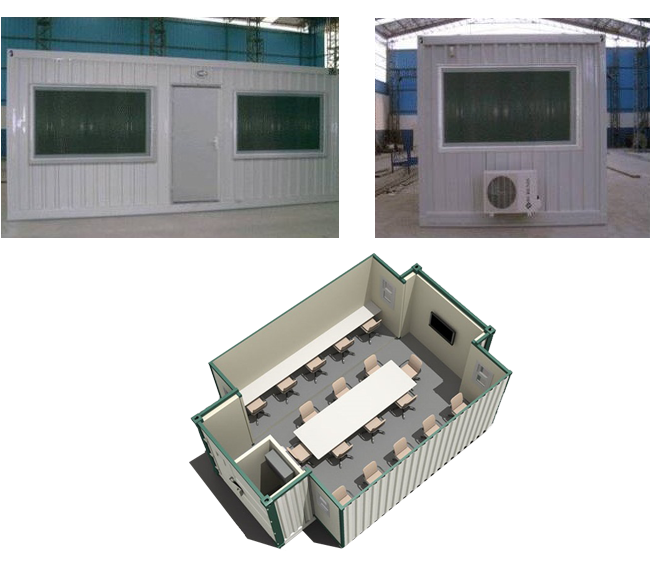 Armored Containers And Guard Cabins Ballistic Armored