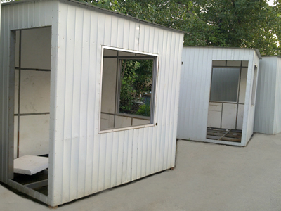 Armored Containers Guard Cabins